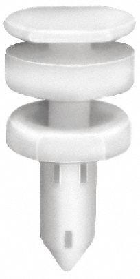 Expanding Push In Rivet, Nylon Dia, 13mm L, 7mm, White