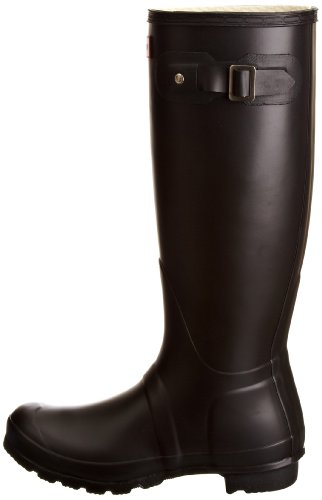 Womens Jager Original Tall Wellington Waterproof Winter Snow Rain Boots Zwart
