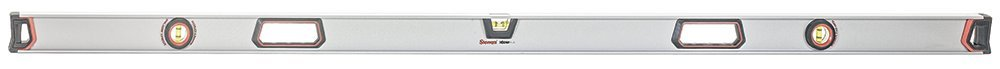 Starrett Exact Plus KLIXP72-1-N Aluminum I-beam Magnetic Level with 3 Plastic 360° Vials, 72'' Length by Starrett