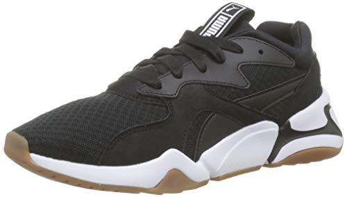 Black Sneakers puma 90's Wn's Noir Nova Basses Bloc Femme