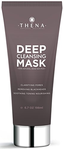 Best Facial Cleansing Mask With Pure Healing Dead Sea Mud For Acne Treatment Pore Minimizer Blackhead Remover, 100% Natural Face Mask Facial Skin Care Products, Organic Anti Aging Beauty Men Women -