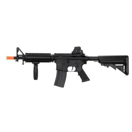 Lancer Tactical Velocity Airsoft LT-02B Lancer Tactical MK18 Electric Airsoft Gun Metal Gear FPS-400