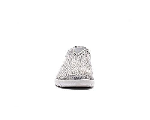 UIN Verona Gestrickte Komfort Loafer Schuhe Herren Grau