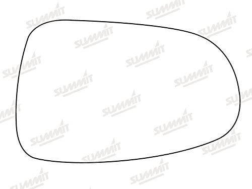 Summit Replacement Mirror Glass With Backing Plate Fits on lhs of vehicle