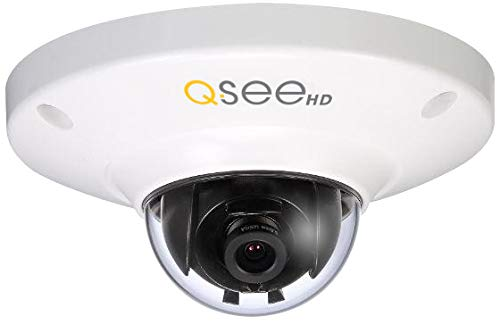 Q-See QCN8028D 3MP High Definition IP Dome Security Camera with Built-In Microphone (White)