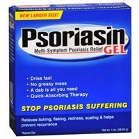 Psoriasin Relief Gel, 1 oz (Pack de 6)