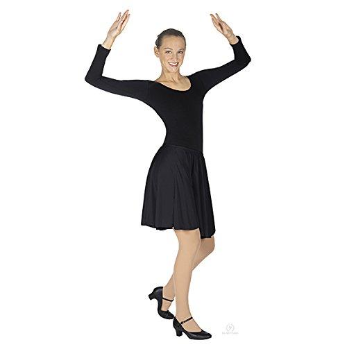Eurotard Pull On Skirt 13774 BLACK-M