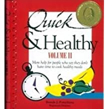 Quick & Healthy Recipes And Ideas - For People Who Say They Don't Have Time To Cook Healthy Meals