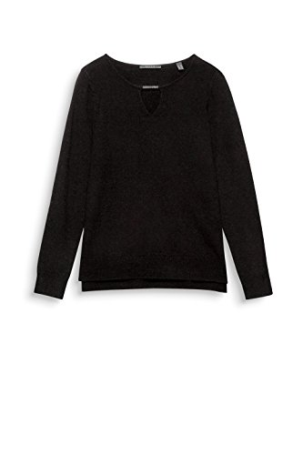 Black ESPRIT Donna Collection 001 Felpa Nero Yf8WFO