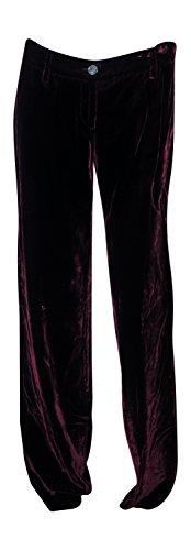 - Dolce & Gabbana Women's Velvet Pants Cranberry Red (38 IT) Size 4
