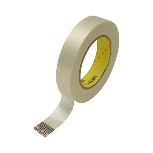 3M Scotch 897 Filament Tape, 170 lbs/in Tensile Strength, 55m Length x 24mm Width, (Industrial Strapping Tape)