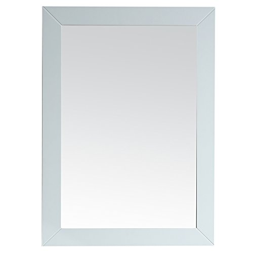 Eviva EVMR69-30WH Acclaim Bathroom Mirror Combination, White by Eviva