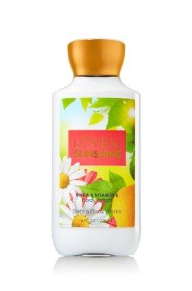 Bain & Body Works vitamine E Lotion amour & Sunshine