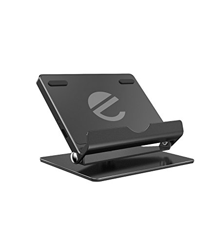 Fast Wireless Charger Stand, eeco Foldable Wireless Charging Stand with 360 Degree Rotatable Charging Pad for iPhone X, iPhone 8/8 Plus, Galaxy S8/S8 Plus/S7/S7 Edge/Note 8 and more Qi-Enabled Devices
