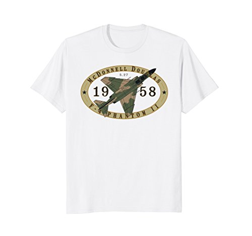 (F-4 Phantom II Jet Fighter Airplane Vintage Military T-Shirt)
