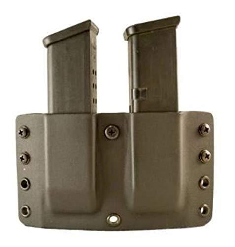 (Comp-Tac Warrior Twin Magazine Pouch Glock 9, 40, 45 Gap Kydex)
