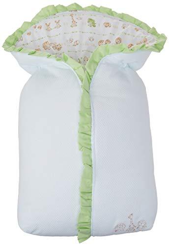 Porta Bebe Baby Com Babado, Papi Textil, Verde, 68Cmx40Cm