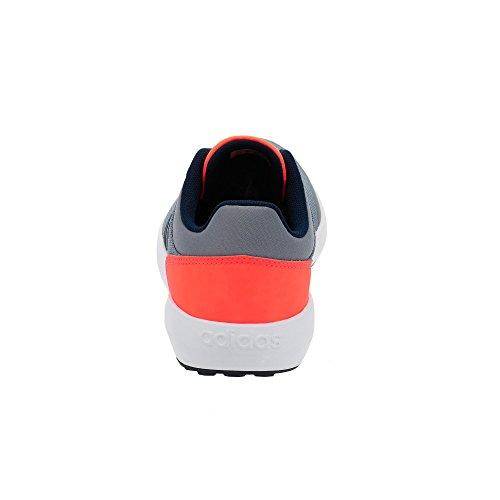 adidas Cloudfoam Race K, Chaussures de Tennis Mixte Enfant, Gris (Gris/Maruni/Narsol), 36 EU