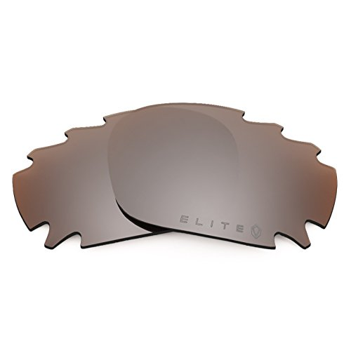 (Revant Polarized Replacement Lenses for Oakley Racing Jacket Vented Elite Flash Bronze MirrorShield)