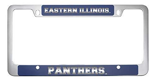 Illinois Plate Stickers - Acove Eastern Illinois University Metal License Plate Frame-Blue
