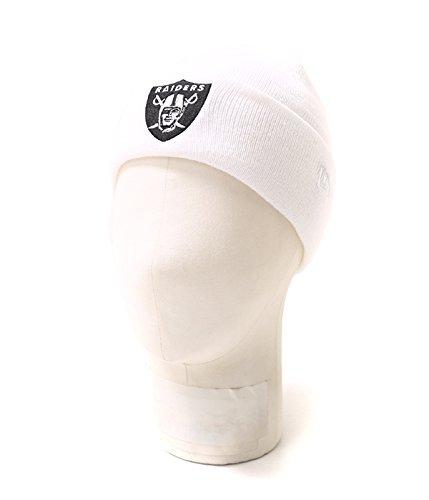 給料浸す地域NEW ERA CAP (ニューエラ) Basic Cuff Knit/Team Logo オークランド?レイダース (オークランド レイダース ニット)