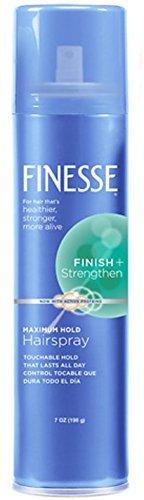 Finesse Maximum Hold Aerosol Hairspray 7 oz by Finesse