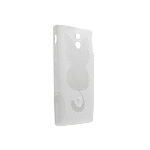 System-S Transparent Silicone Case Cover for Sony Ericsson Xperia P Nypon Lt22i