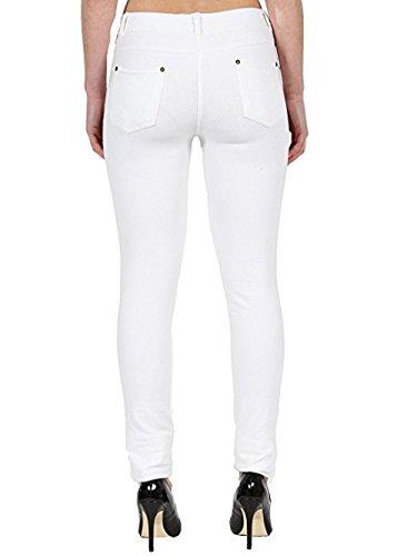 Jeggings Jeans Jeans Donna Jeggings White Missmister Missmister R0xB8