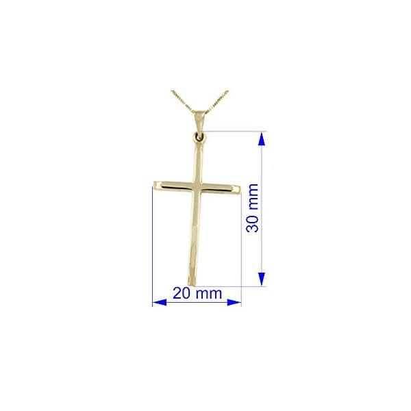 Lucchetta – Cruz colgante Collar de Oro Mujer con Crucifijo Oro 585 colgante Lucchetta – Cruz colgante Collar de Oro Mujer con Crucifijo Oro 585 colgante Lucchetta – Cruz colgante Collar de Oro Mujer con Crucifijo Oro 585 colgante
