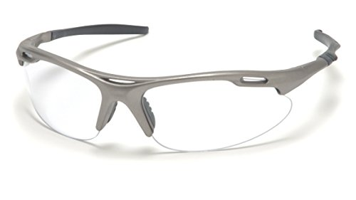 Pyramex Safety Avante Eyewear, Gun Metal Frame, Clear Lens