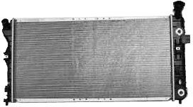 TYC 2343 Buick 1-Row Plastic Aluminum Replacement Radiator