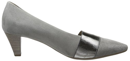 Fashion 19 Shoes Gabor Noir Femme Escarpins Grau Gris qFR058