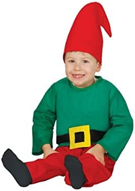 Disfraz de Enanito baby 6-12 meses: Amazon.es: Juguetes y juegos