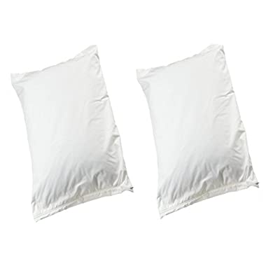 Allersoft Cotton Dust Mite & Allergy Control King Pillow Cover Only, 2-Pack
