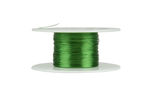 TEMCo 30 AWG Copper Magnet Wire - 2 oz 392 ft