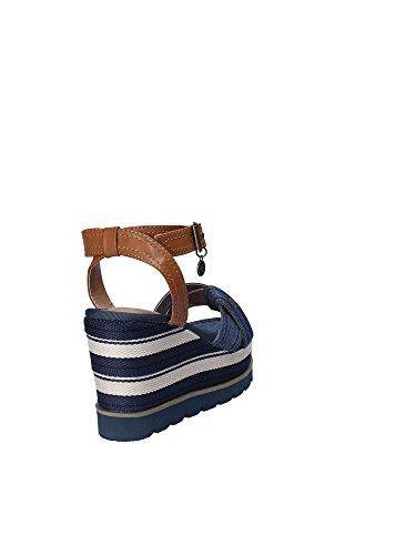 Gold A18 JB818 Wedge Sandals Women Blue wkrnAQ