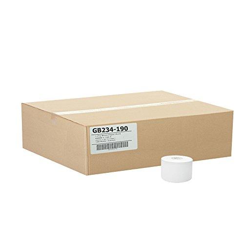 (50) 2-3/4 x 190' 1-Ply Bond Paper Rolls Epson Ruby TM930 TM950