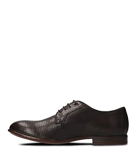 Moma Hombre Cordones Zapatos Cuero Marrón 24801532tmoro De gngWwqarH