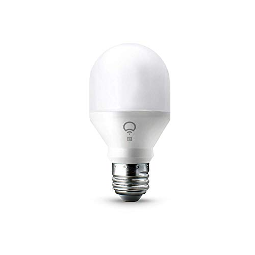 LIFX A19 Wi-Fi Smart LED Mini Light Bulb, White (Certified Refurbished)