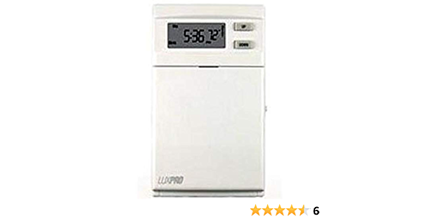 5 2 Days Programmable Line Voltage Thermostat Heat Only Temperature Sensors Amazon Com