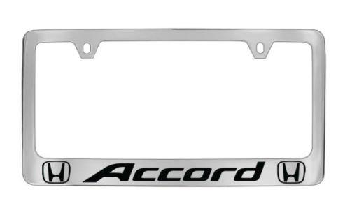 chrome-honda-accord-license-plate-frame-metal