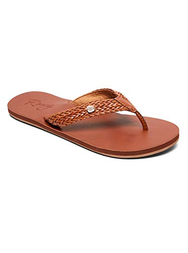 Roxy Womens Lola - Braided Sandals - Women - US 8 - Beige Tan/Brown US 8 / UK 5 / EU 38