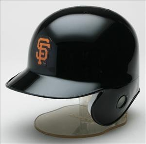 San Francisco Giants MLB Mini Batters Helmet - Licensed MLB Memorabilia - San Francisco Giants Collectibles