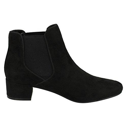 Anne Michelle ,  Damen Chelsea Boots Black Microfibre