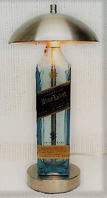 Johnnie Walker Blue Label Bottle Touch Desk Lamp - Johnnie Walker Blue Label