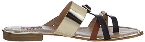 s Black 27107 Oliver Women's Black Comb Sandals Black 098 098 Schwarz Fashion Comb Black Size Schwarz wr1rXBqx