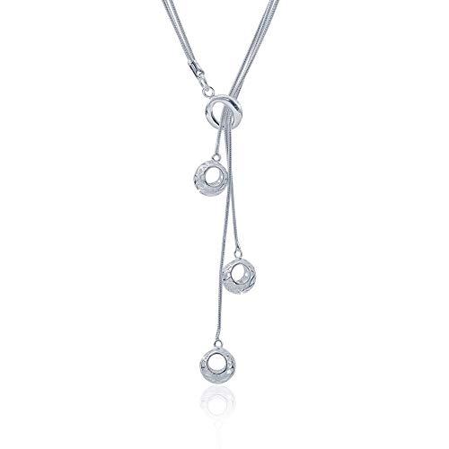 3-Mei O - Shaped Three Hoist Necklaces ()