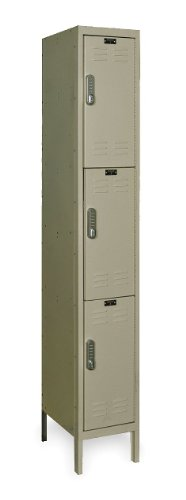 Hallowell UEL1288-3A-PT DigiTech Electronic Locker, 12
