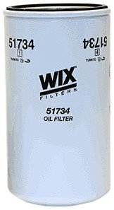 WIX Filters - 51734 Heavy Duty Spin-On Lube Filter, Pack of 1 (Best Oil Filter For 7.3 Powerstroke)