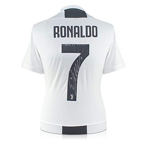 (Cristiano Ronaldo Signed Juventus Soccer Jersey | Autographed Sport Memorabilia)